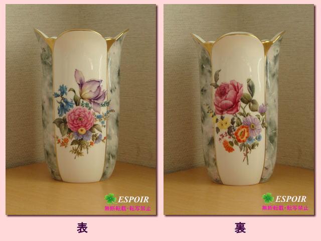 洋絵付-花瓶