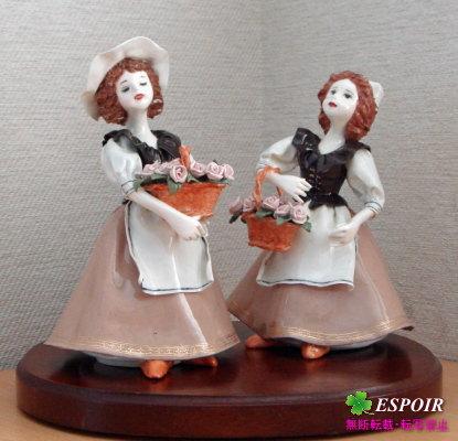 西洋陶芸-人形3