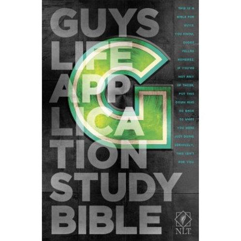 NLT Guy's Life Application Study Bible