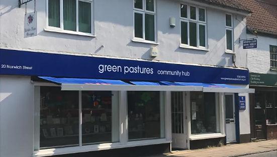 Green Pastures Bookshop Dereham