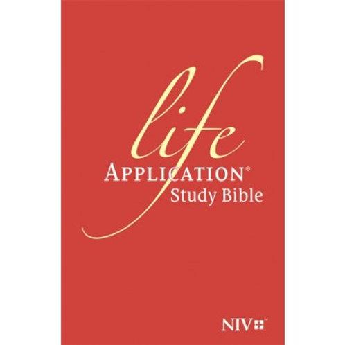 Life Application Study Bible, NIV, Hardback