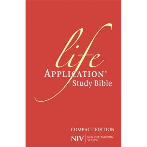 Life Application Study Bible NIV, Compact Edition