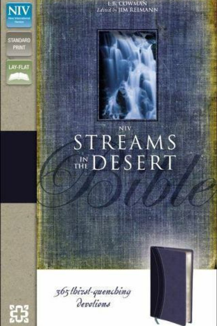NIV Streams in the Desert (Lay flat)