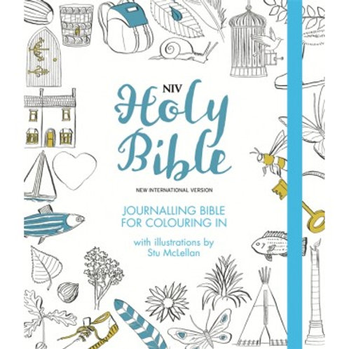 NIB Journalling Bible for Colouring
