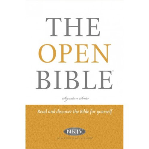 NKJV Open Bible Hardback