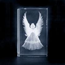 Glass Block - Angel
