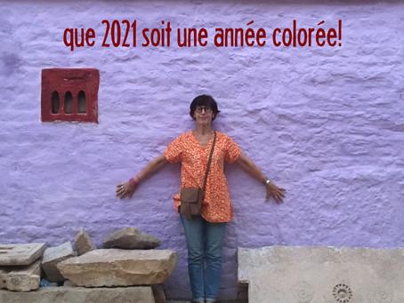 Que 2021 soit une année colorée!