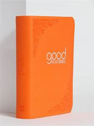 Good News Bible Soft-touch Orange