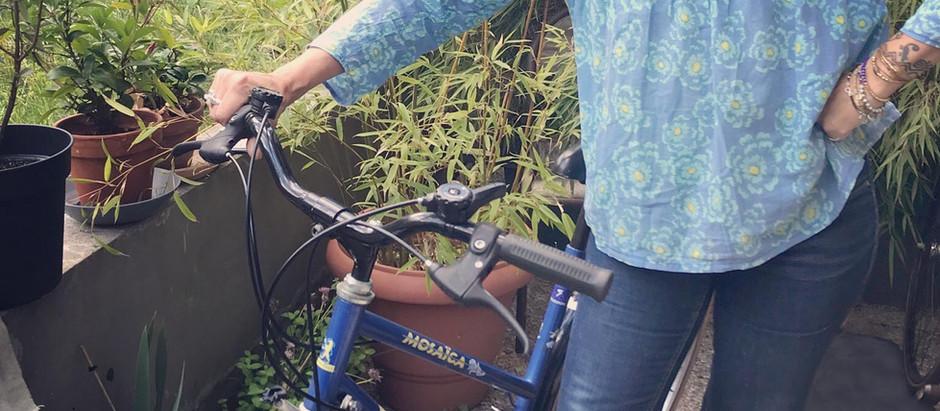 Déconfinée avec mon nouveau vélo ☀️🚲