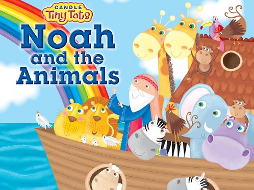 Candle Tiny Tots Noah and the Animals