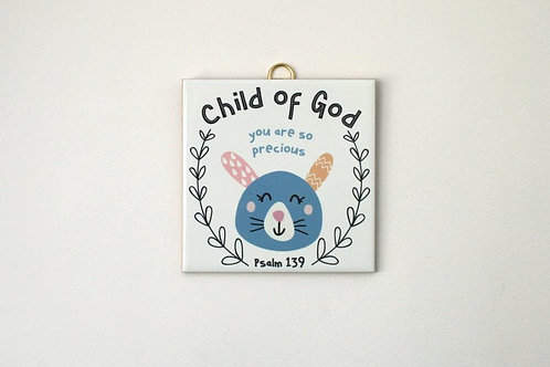 Hanging Tile - Child of God