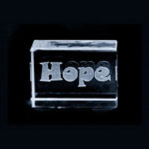 Small Glass Block - Hope