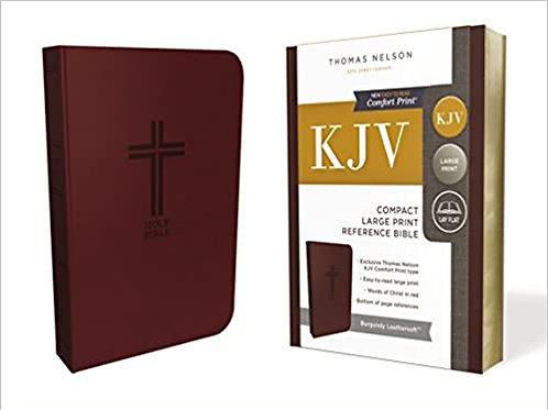 KJV Compact Large Print Reference