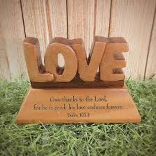 Table Ornament - Love