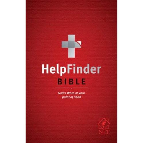 NLT HelpFinder Bible (Hardback)