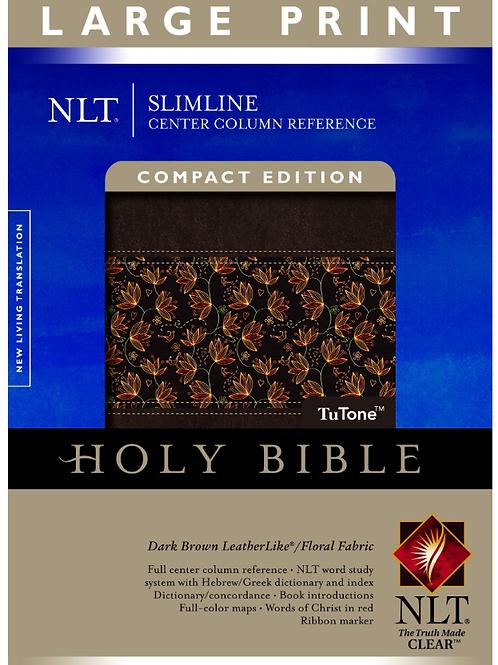 NLT Slimline, Compact, Imitation Leather – Large Print