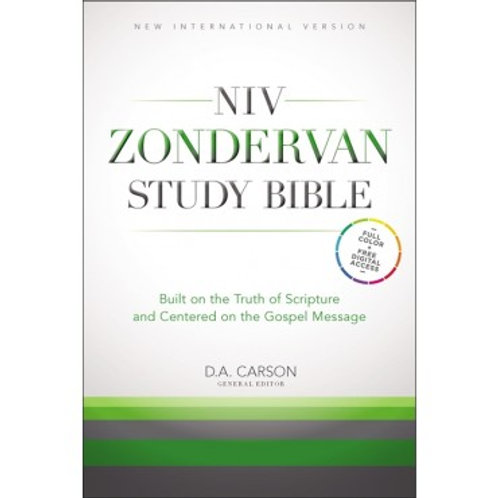 NIV Zondervan Study Bible, Anglicised Edition