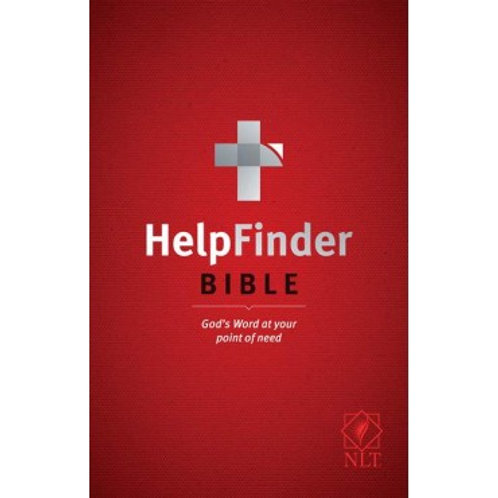 NLT HelpFinder Bible