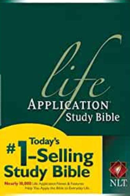 NLT Life Application Study Bible (Bible NLT) Hardcover