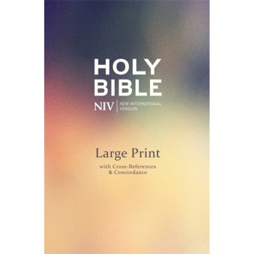 Holy Bible NIV Large Print with Cross Reference Hardback