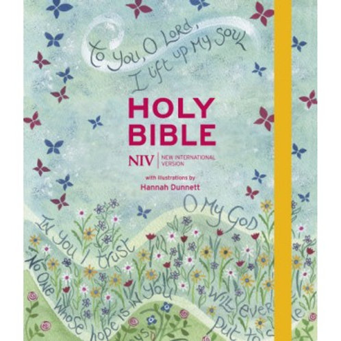 NIV Journalling Hannah Dunnett Illustrated 2 coloumn