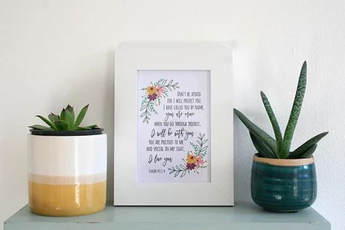 Framed Print - I Love You