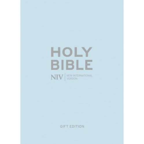 NIV Pocket Pastel Blue Soft-tone