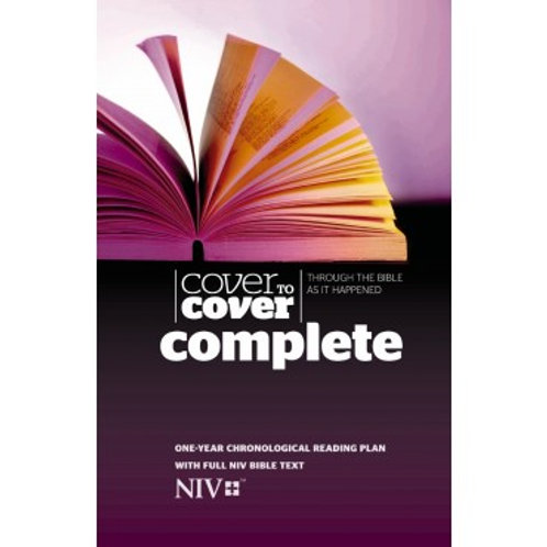 NIV Cover to Cover Complete