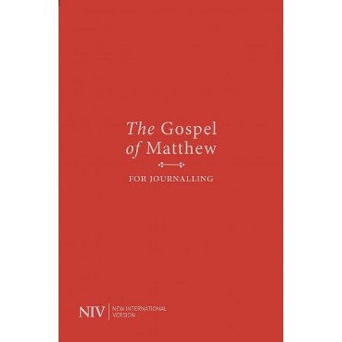 Gospel of Matthew Journalling