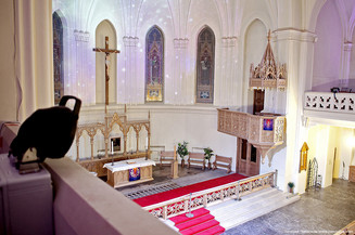 «Музыка Вселенной» под сводами собора