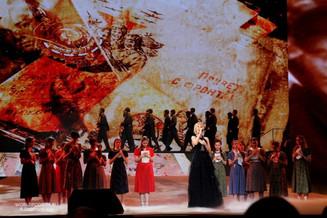 «Будем жить!» - театрализованный вечер ко Дню Победы в Государственном Кремлёвском Дворце