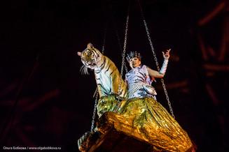 Звёзды циркового фестиваля в «Монте-Карло» зажглись в Москве