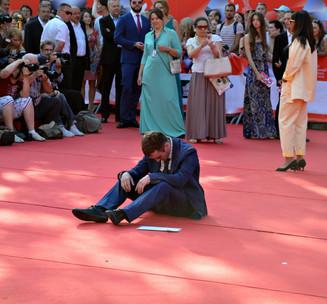 На красной дорожке 38-го кинофестиваля Сергей Михалков встретил «Дикого ангела»