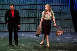 «Калина красная» на сцене театра «Русская песня»