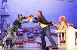 На сцене Театриума на Серпуховке состоялась премьера спектакля «Игра на вылет»