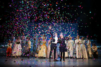 Мюзикл «Золушка» соединил сердца влюбленных из Санкт-Петербурга