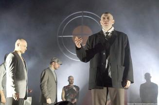 Спектакль по Маяковскому и отчасти о Маяковском