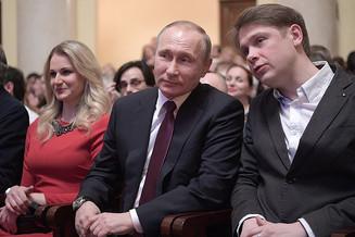 Владимир Путин посетил в Сочи спектакль, открывающий Международный фестиваль искусств