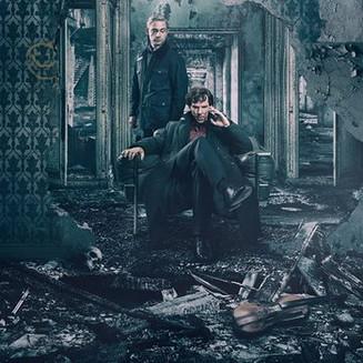 Взрывная волна сбивает Холмса и Ватсона в трейлере финала «Шерлока»