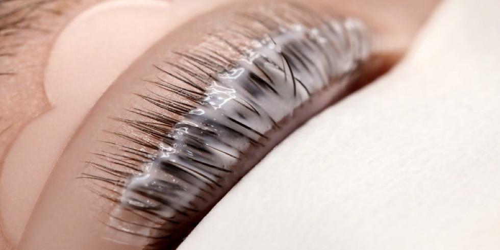 Laminación de pestañas y cejas profesional Online