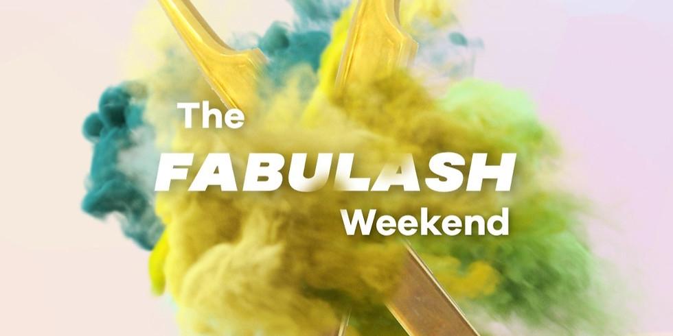 PAYPAL  - The Fabulash Weekend 20, 21 de febrero - Online