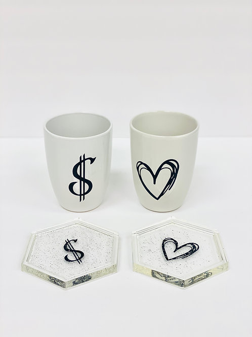 For the Love of Money Mugs & Coasters