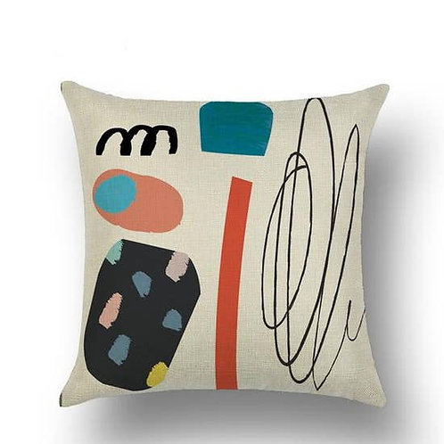 Abstract Accent Pillow