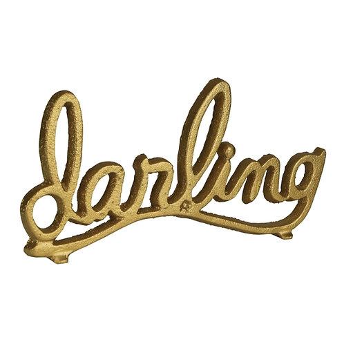 Darling Iron Tabletop Decor