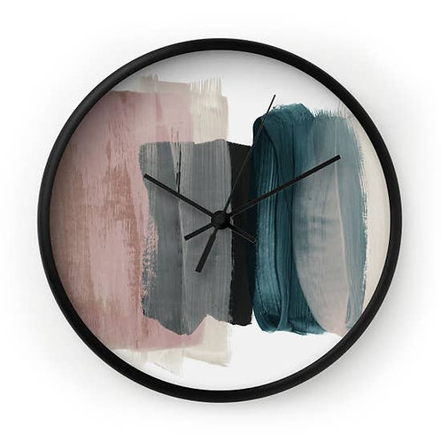 Painted Time Wall Clock
