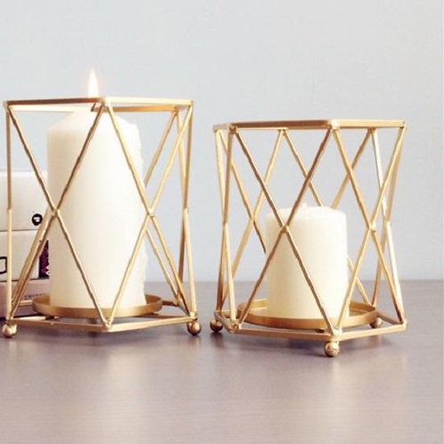Cross Chic Candle Holder