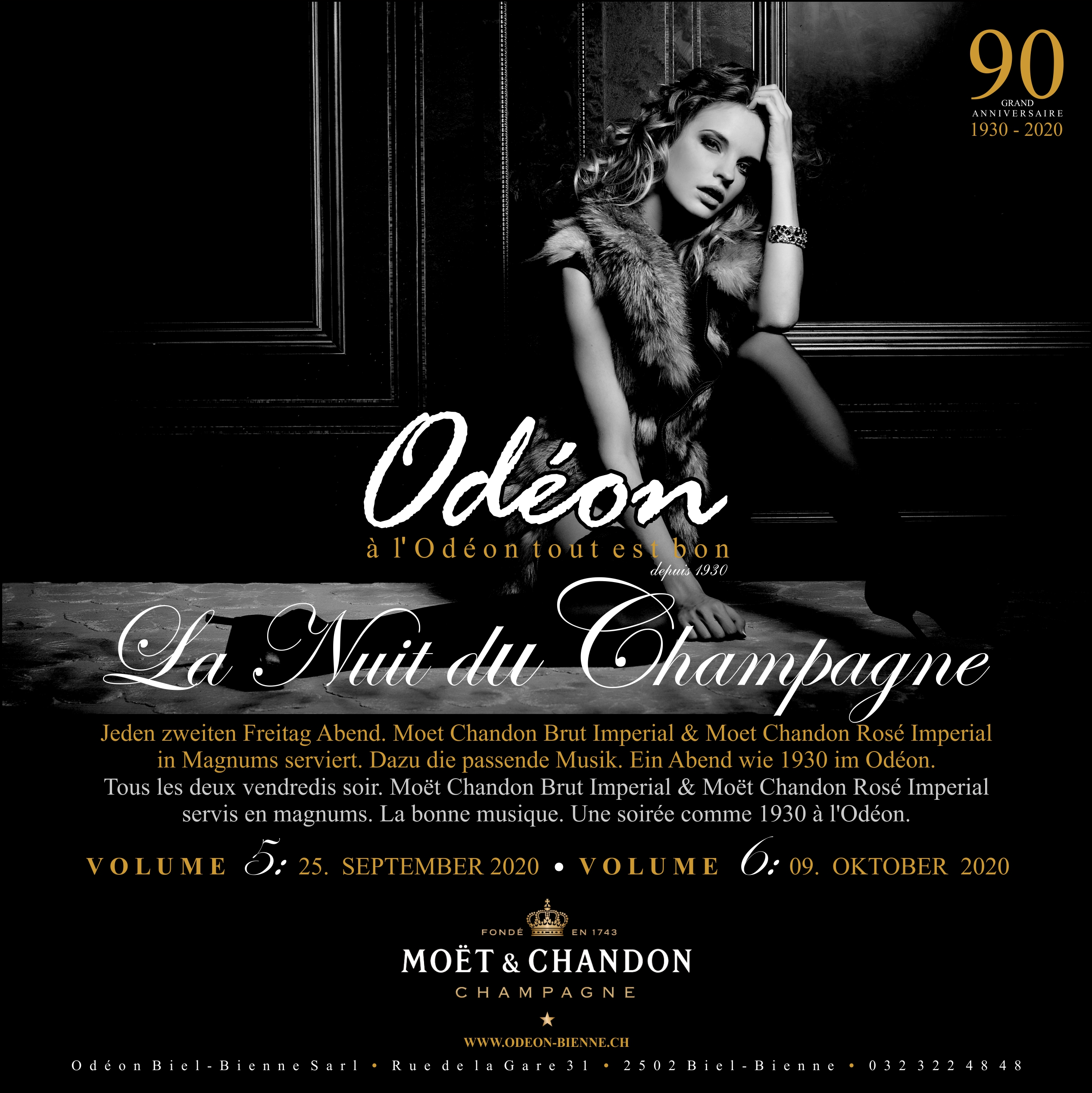 Odeon la Nuit Du Champagne Version 2 Vor