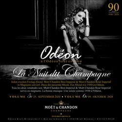 Odeon la Nuit Du Champagne Version 2 Vor