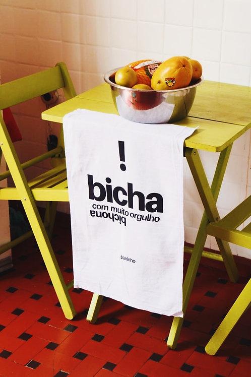 Pano de Prato - Paninho BICHA!