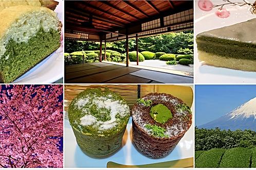 Organic Matcha Loaf/Whole Cake + 1 other organic Matcha of your choice (Customiz